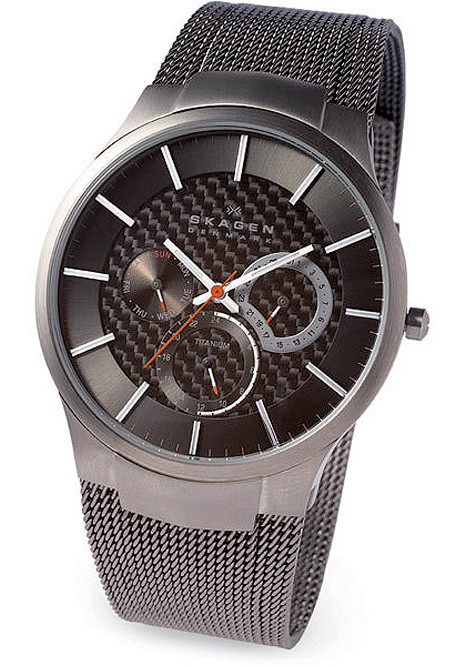Watch Review - Skagen 809XLTTM Men's Titanium Multifunction Grey Watch