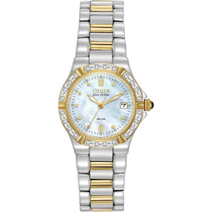 Citizen Ladies Riva Eco Drive Diamond Watch EW0894-57D
