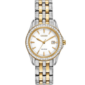 Citizen Ladies Crystal Eco Drive Watch EW1908-59A