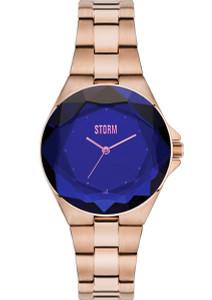 Storm Crystana Rose Gold Blue 47254/B