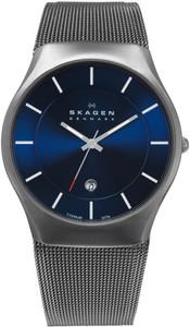 Skagen Men's Titanium Blue Watch 956XLTTN