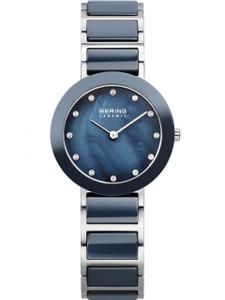 Bering Ladies Ceramic Crystal Watch 11429-787