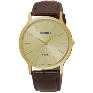 Seiko Mens Solar Powered Classic Watch SUP870P1