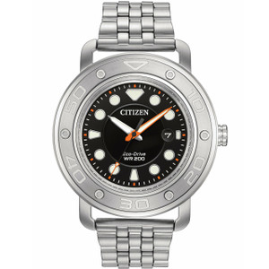 Citizen Diver's Watch With Interchangeable Straps AW1530-65E