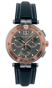 Michel Herbelin Gents Stainless Steel Newport Chronograph Watch 36657/TR22GR