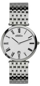 Michel Herbelin Gents Epsilon Classic Watch Silver 414/B01
