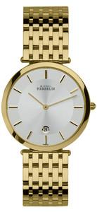Michel Herbelin Gents Epsilon Classic Watch Gold 414/BP11