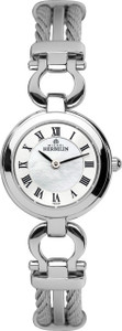 Michel Herbelin Ladies Stainless Steel Cable Watch 17422/B29