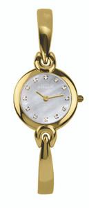 Michel Herbelin Ladies Gold Plated Salambo Bangle Watch 17001/BP59
