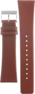 Skagen Watch Replacement Brown Leather Strap 23mm For SKW6083 With Free Connecting Pins