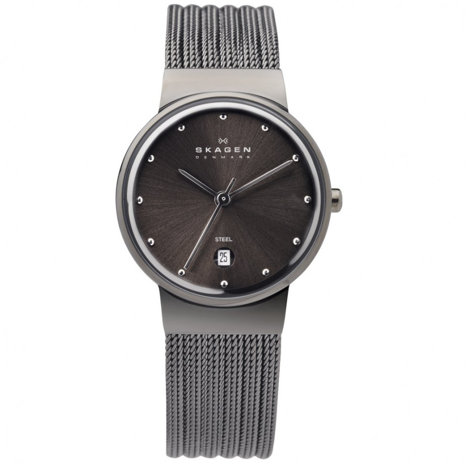 Watch Review - Skagen 355SMM1 Ladies Neutral Grey Watch