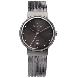 Skagen Ladies' Neutral Grey Watch With Date 355SMM1