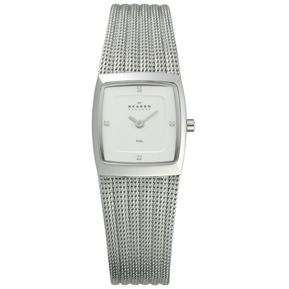 Watch Review - Skagen 380XSSS1 Ladies Silver-Tone Watch