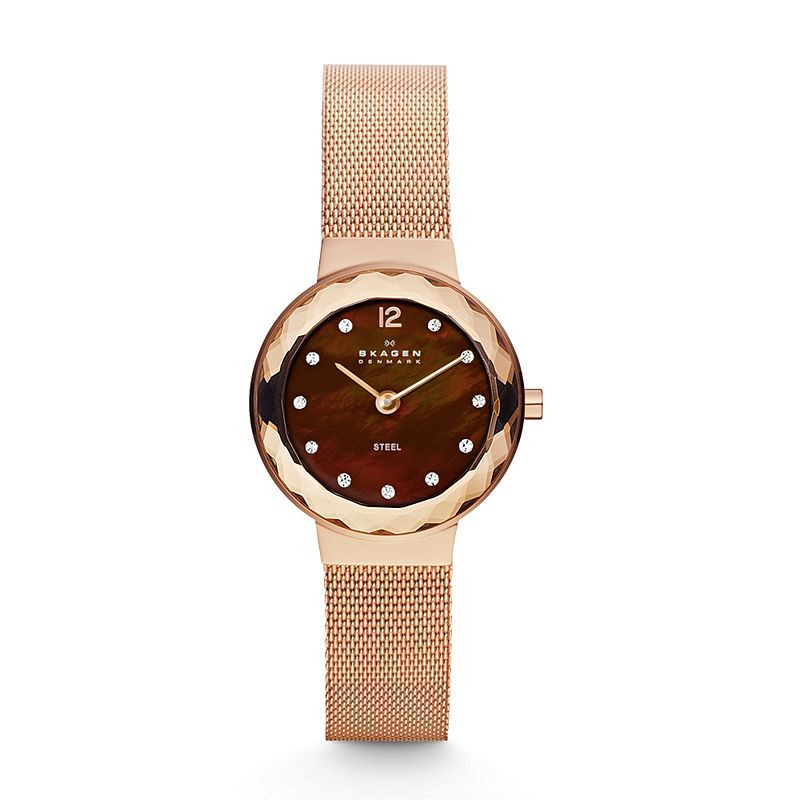 Watch Review - Skagen 456SRR1 Ladies Rose Gold Watch