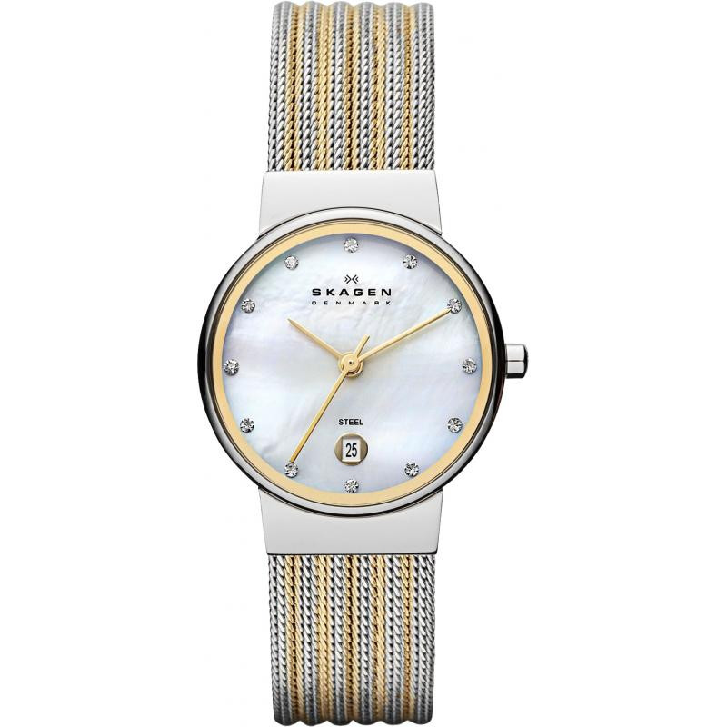 Watch Review - Skagen 355SSGS Ladies Two-Tone Watch