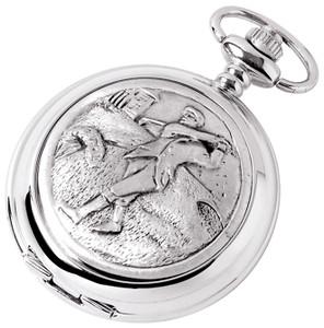 Woodford Skeleton Full Hunter Pocket Watch With Engraving Option 1881