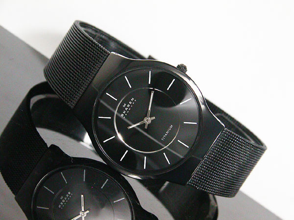 Watch Review - Skagen 233LTMB Titanium Black Men's Watch