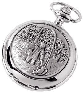 Woodford Skeleton Full Hunter Pocket Watch With Engraving Option 1880