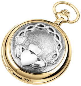 Woodford Skeleton Full Hunter Pocket Watch With Free Engraving 1945