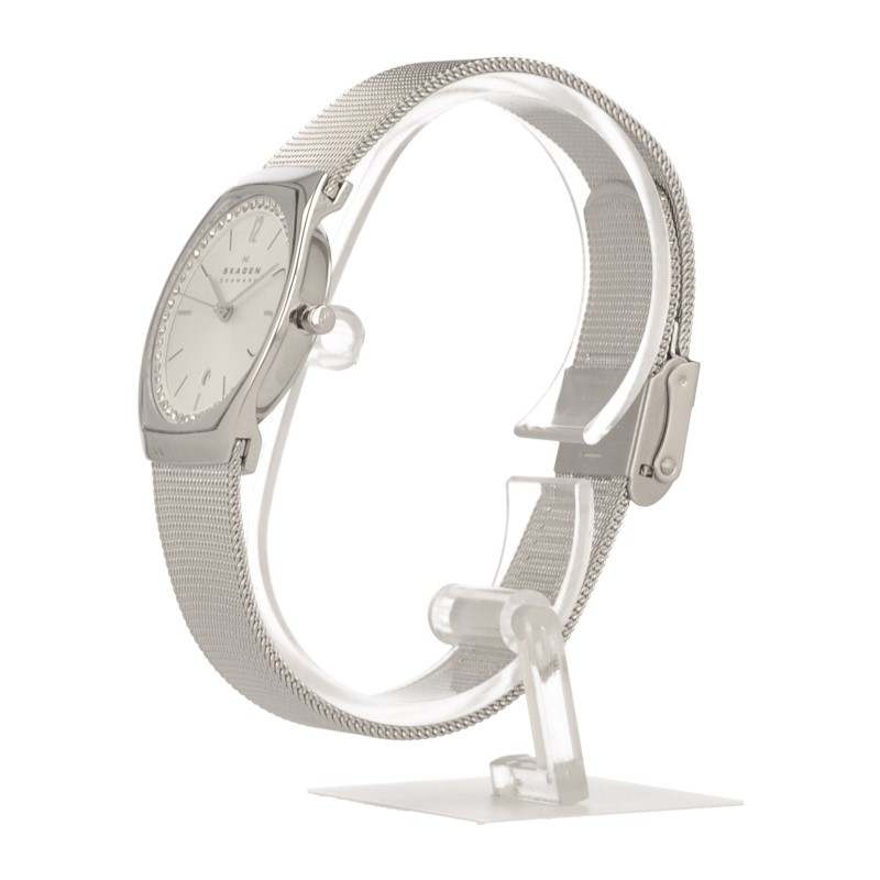 Watch Review - Skagen SKW2049 Ladies Crystal Silver-Tone Watch