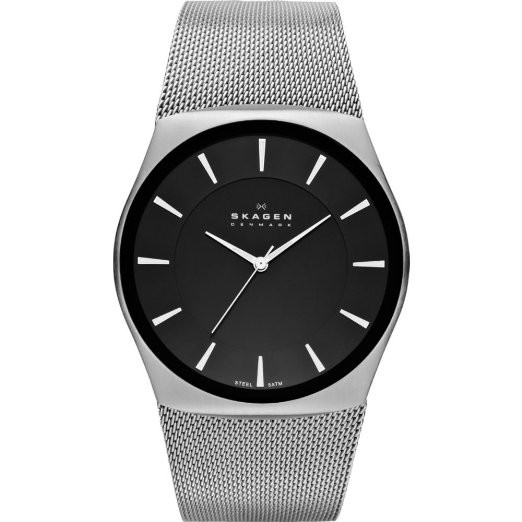 Watch Review - Skagen SKW6019 Men's Black Dial Mesh Strap Watch
