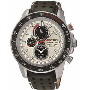 Seiko Mens Perpetual Calendar Sportura Solar Powered Watch SSC359P1