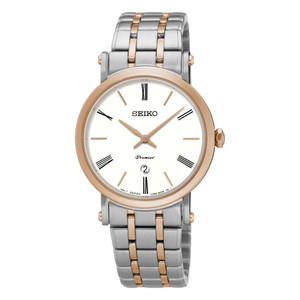 Seiko Ladies Premier Two-Tone Dress Watch SXB430P1