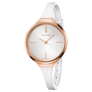 Calvin Klein Ladies Lively Watch with Silver Dial K4U236K6