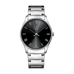 Calvin Klein Men's Classic Watch with Black Dial K4D2114Y