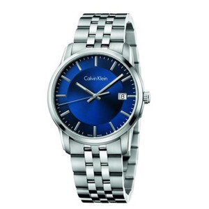 Calvin Klein Men's Infinity Watch with Dark Blue K5S3114N