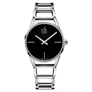 Calvin Klein Ladies Stately Watch with Black Dial K3G23121
