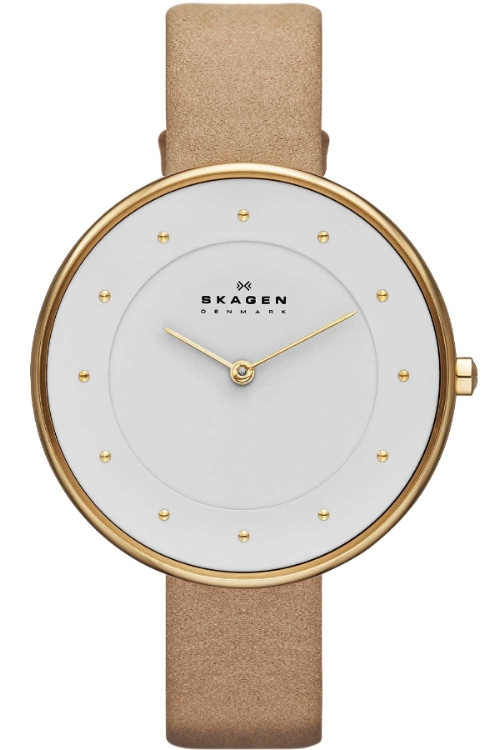 Watch Review - Skagen SKW2137 Ladies Sand Leather Watch