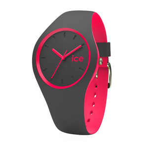 Ice-Watch Unisex Duo Anthracite Pink Watch DUO.APK.U.S.16