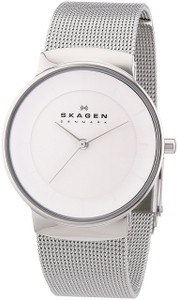 Skagen Ladies Silver Tone Watch SKW2075