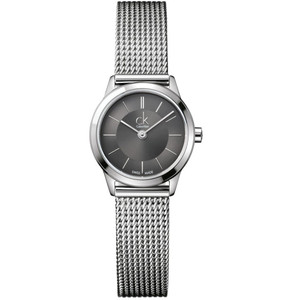 Calvin Klein Ladies Minimal Stainless Steel Bracelet Watch K3M23124