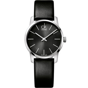 Calvin Klein Ladies City Black Dial Watch K2G23107