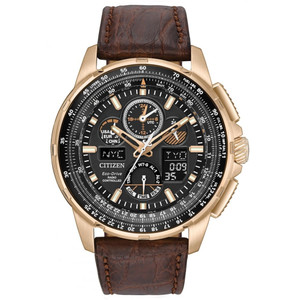Citizen Mens Skyhawk Limited Edition Radio Controlled Eco Drive Watch JY8056-04E