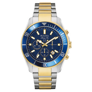 Bulova Marine Star Men's Chronograph Watch 98B230