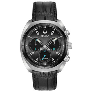 Bulova Men's Curved Chronograph Watch 98A155