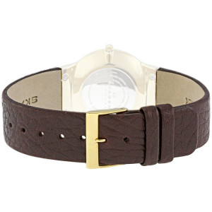 Skagen Watch Replacement Leather Strap Brown For 433LGL1 With Free Screws