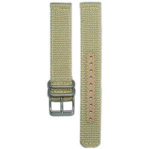 Seiko Replacement Strap Beige Nylon 18mm For SNK803K2