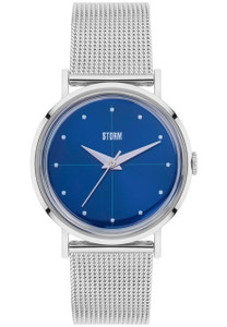 Storm Chelsi Blue Ladies Stainless Steel Slim Watch