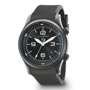 Elliot Brown Canford Mens Black Rubber Watch 202-004-R01