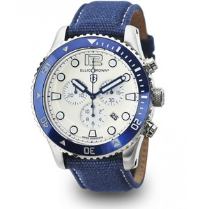 Elliot Brown Bloxworth Men Blue Jeans Style Watch 929-008-C01