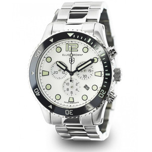 Elliot Brown Bloxworth Mens Stainless Steel White Watch 929-007-B01