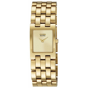 Citizen Jolie Ladies Gold Eco Drive Watch EX1302-56P