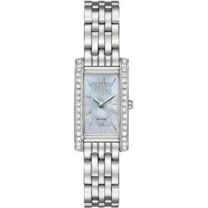 Citizen Silhouette Ladies Eco Drive Crystal Watch EX1470-60D