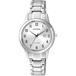 Citizen Ladies Eco Drive Silver Dial Everyday Watch FE1081-59B