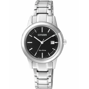 Citizen Ladies Eco Drive Black Dial Everyday Watch FE1081-59E
