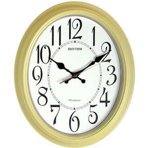 Rhythm Westminster White and Cream Wall Clock CMH804NR38